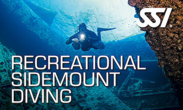 recreational sidemount diving at our Scuba Diving Center and Dive Shop